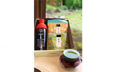 水出し茶用フィルターインボトル『緑茶・ほうじ茶』セット