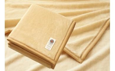 日本製 アクリルニューマイヤー毛布 色/ベージュ