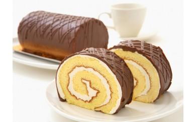 見た目も味も昭和レトロ 懐かしチョコロールケーキペアセット