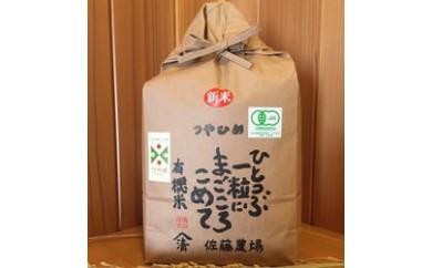 平成29年産有機栽培米つや姫 3kg