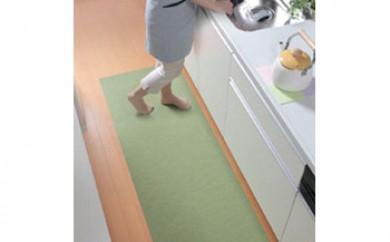 キッチンマット  60×120cm(グリーン)