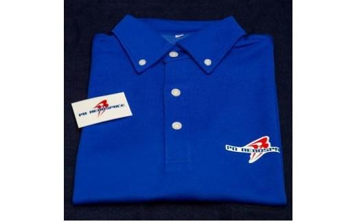 目指せ、宇宙旅行☆ PDエアロスペース特製ボタンダウンポロシャツ(特製ステッカー同封)