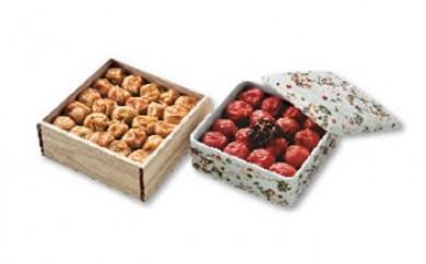 〈和歌山・紀州高田果園〉 特別栽培南高梅の梅干詰合せ「舞」 有田焼・木箱容器入
