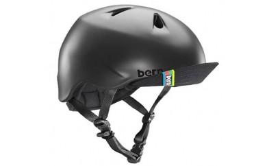 (S-M 4歳~6歳)BERNのジュニア、キッズ用ヘルメット BOYS BLACK