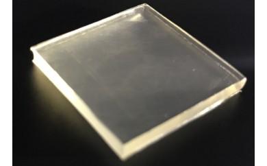耐震マット(透明) 500mm角×厚さ3mm:1個