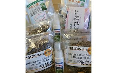 「奄美の香り」9点セット 貝殻付き