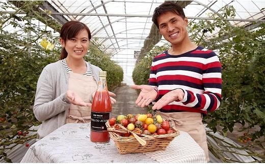 フルーツジュエリートマト&無塩・無添加 贅沢トマトジュース