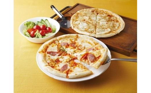 B043 飛騨のチーズたっぷりピザ贅沢セット