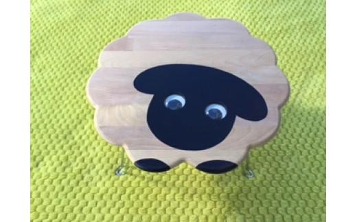 B603 サフォーク羊のテーブル【1点】