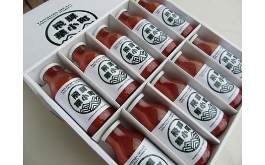 B065 糖度9度・濃厚・完熟フルーツトマト100%ジュース 180ml×10本