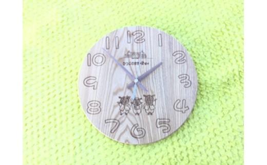 B601 さほっちファミリーの掛け時計【1点】