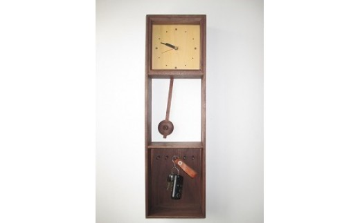 C42 木製掛時計(小)