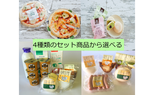 C28 4種の選べる飛騨の乳製品ギフトセットA