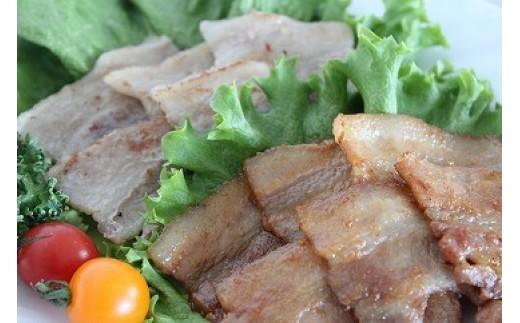 S008021 ふかがわポーク味付き豚バラセット(ねぎ塩・ピリ辛)