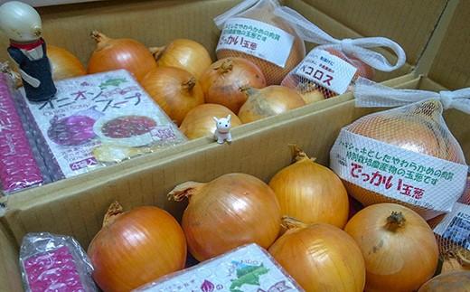 玉葱ひとすじ。中島農園「玉葱詰合せセット」