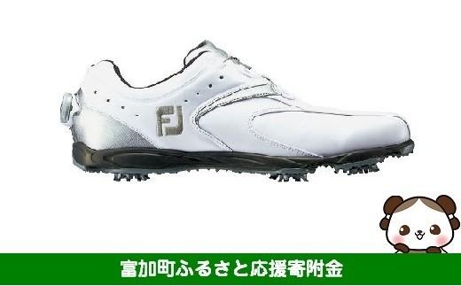 【35006】フットジョイ Boa ゴルフシューズ メンズ EXL ボア【ホワイト/シルバー】
