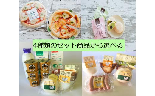 E04 4種の選べる飛騨の乳製品ギフトセットC