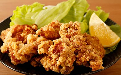 <本土最南端>佐多の田中肉屋若鶏骨なし味付から揚げ(揚げたて)