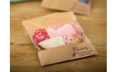 ◆ハートのサシェ・香袋/ピンク