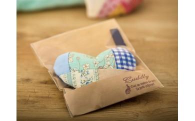 ◆ハートのサシェ・香袋/ブルー