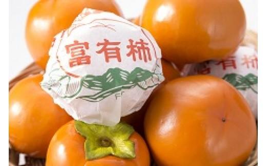 30.B014 岐阜県網代産 富有柿 店主お任せお徳用(個包装なし)2L~3L 40個