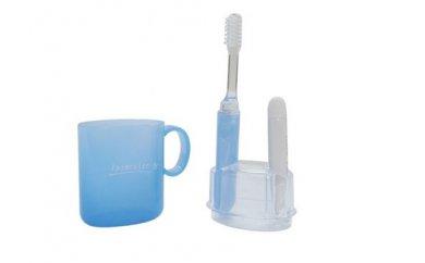携帯歯磨きセット「イプセコロール  デンタルキット」 ブルー