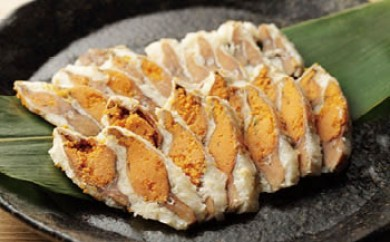 近江米でじっくり熟成発酵させた国産の天然子持ち鮒寿司スライスS(箱入り)