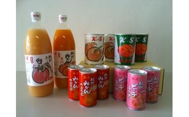★受付終了★フルーツジュース&缶詰めセット