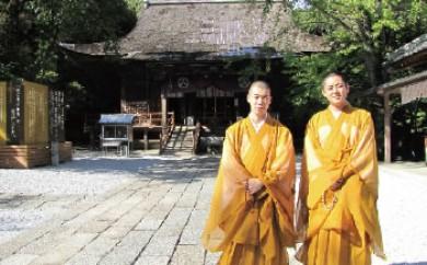 竹林寺僧侶と巡るパワースポットと癒しの写経体験ペア券