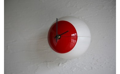 木製漆塗り時計 MARU-Q CLOCK(NAGOMI-和-)