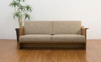 ◆栗の木の3人掛けソファー