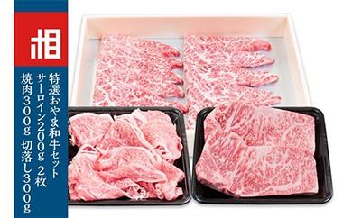 おやま和牛A5ランクサーロイン200g×2枚 おやま和牛A5ランク焼肉用300g おやま和牛A5ランク切り落とし300g