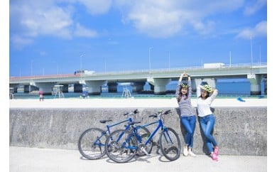 【ちゅらぽた】壺屋・三重城コースペアチケット(レンタサイクル付き)