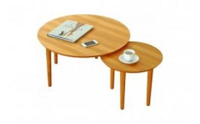 バルーンリビングテーブル 69-2枚 アルダー