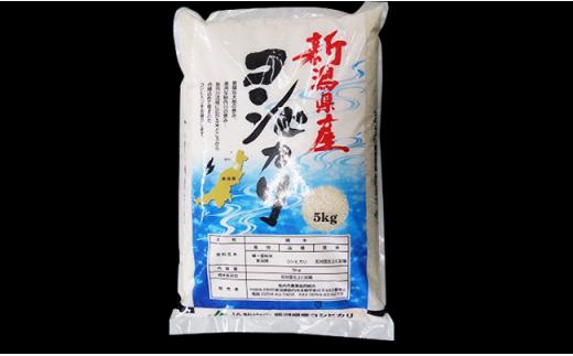 新潟県産コシヒカリ 精米5kg×1袋