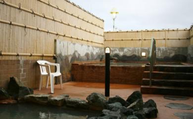 源泉100%かけ流しの天然温泉 北村温泉ホテル 宿泊補助券