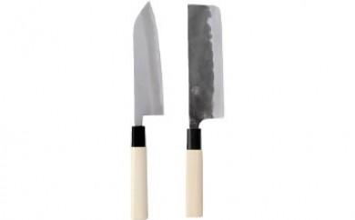手造三徳・菜切和包丁セット