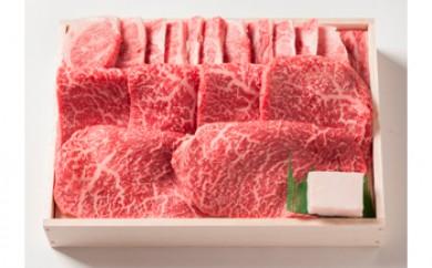 和牛モモバラ焼肉【550g】