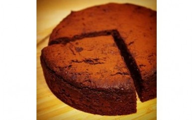 T7011-Cお豆腐の濃厚チョコケーキ【精進ショコラ】4号サイズ(3~4人分)【7000pt】