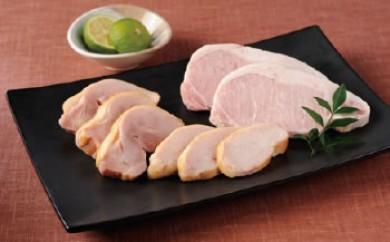 〈徳島県・マルフク〉 阿波尾鶏・阿波すだち鶏ハム詰合せ Cセット