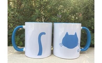 【しゅうニャン市ネコ部】しゅうニャン猫マグカップ ペアセット