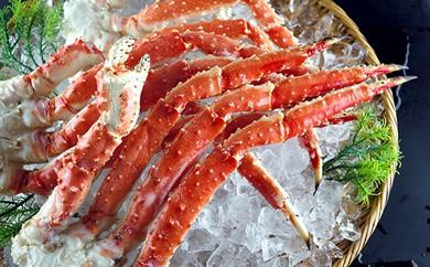 【新物】本タラバ蟹足1.5kg入