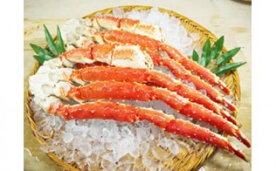 【稚内より発送】本たらば蟹【特5L】品質保障【1kg】