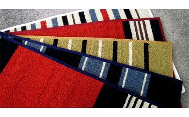 BA49~BA56 倉敷手織緞通 一尺