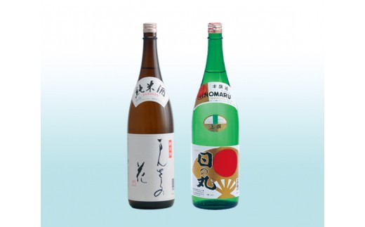 No.044 横手の美酒セット / 日本酒 純米酒 まんさくの花 上撰日の丸 秋田県 人気