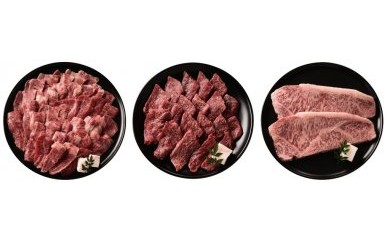 <神戸牛>  ステーキ・焼肉用詰合せ