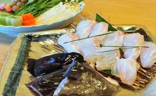 40.【限定30セット】「クエ鍋セット」※10月より発送 クエ200g(頭、骨付)