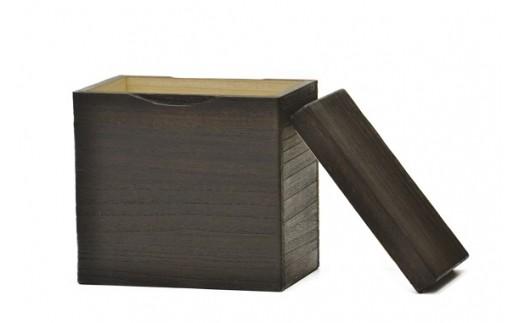AF-0801 桐米びつ(5kg)焼桐+特別栽培米「環のめぐみ」(5Kg)