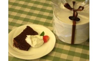 チョコレート シフォンケーキ17cm生クリーム付き/JOEL/ジョエル