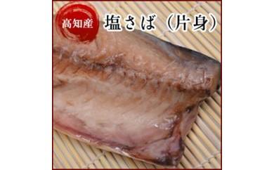 塩サバ 高知県産 塩さばの片身10枚 サバ(鯖) 岡岩商店